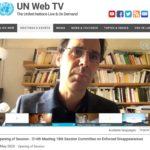 Erstmals öffentliche online Sitzung eines UN Vertragsausschusses