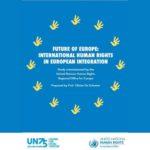 Neue Studie: Internationale Menschenrechte in Recht und Politik der EU