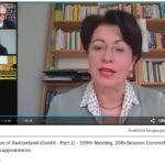Schweiz im Dialog mit CED