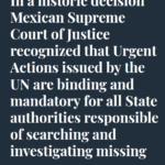 Historische Entscheidung in Mexiko